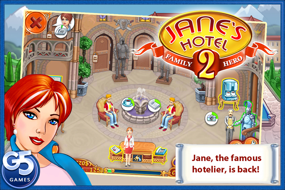 Screenshot Jane's Hotel 2: Family Hero Full Review