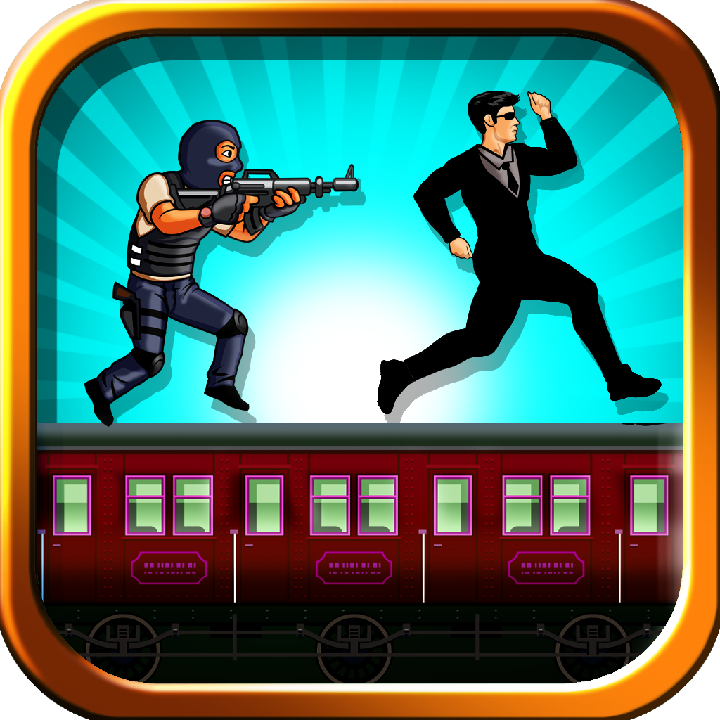 A Secret Agent Assassin's Dash - Cool Train Surfer Action Craze
